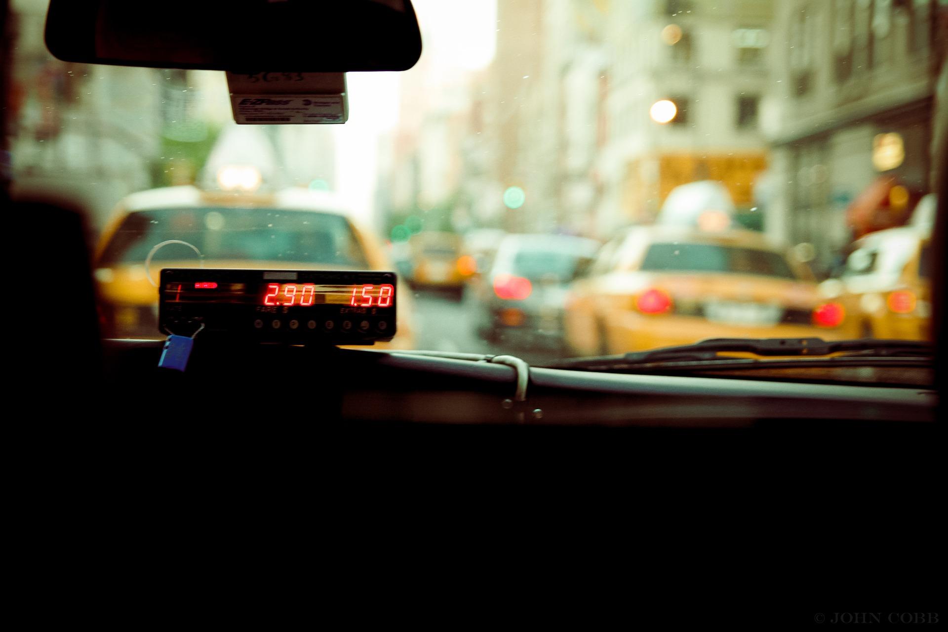 旅行中のタクシートラブル